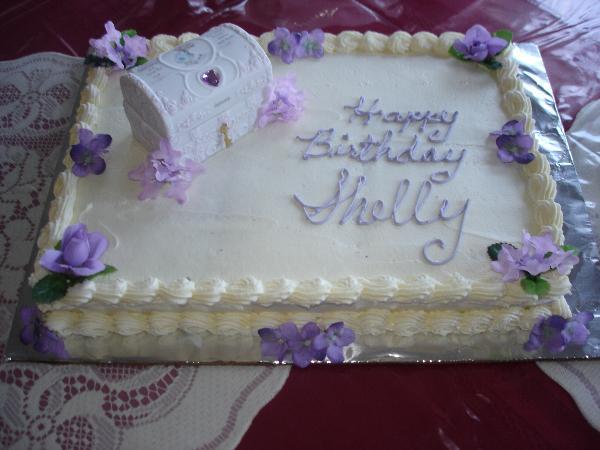 Happy Birthday Shelly Cake