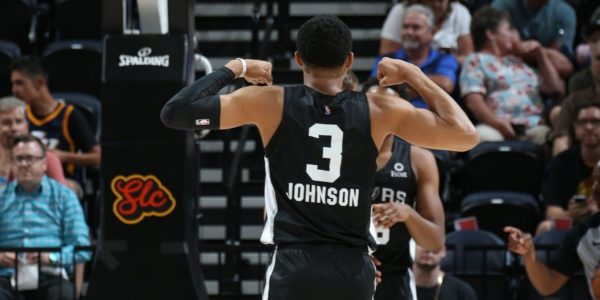 Keldon Johnson summer league