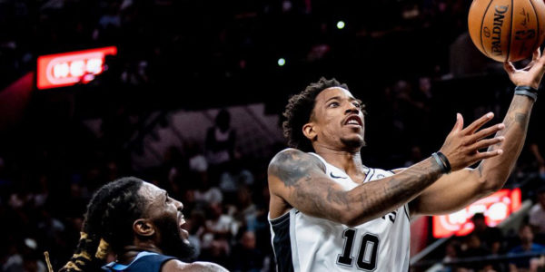 demar derozan grizzlies preseason