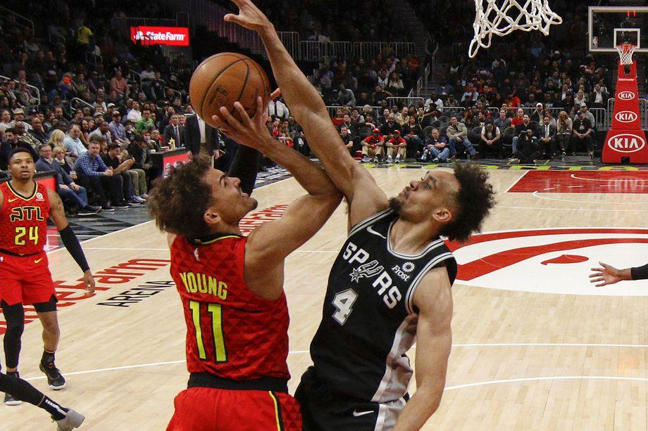 Spurs vs Hawks