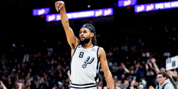 patty mills three-point shooting