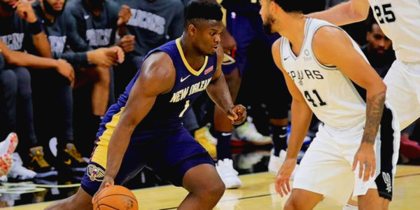 zion williamson spurs