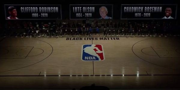 spurs players reflect loss of chadwick boseman cliff robinson and lute olson