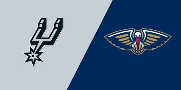 Spurs at Pelicans